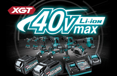 Makita 40 V Max assortiment