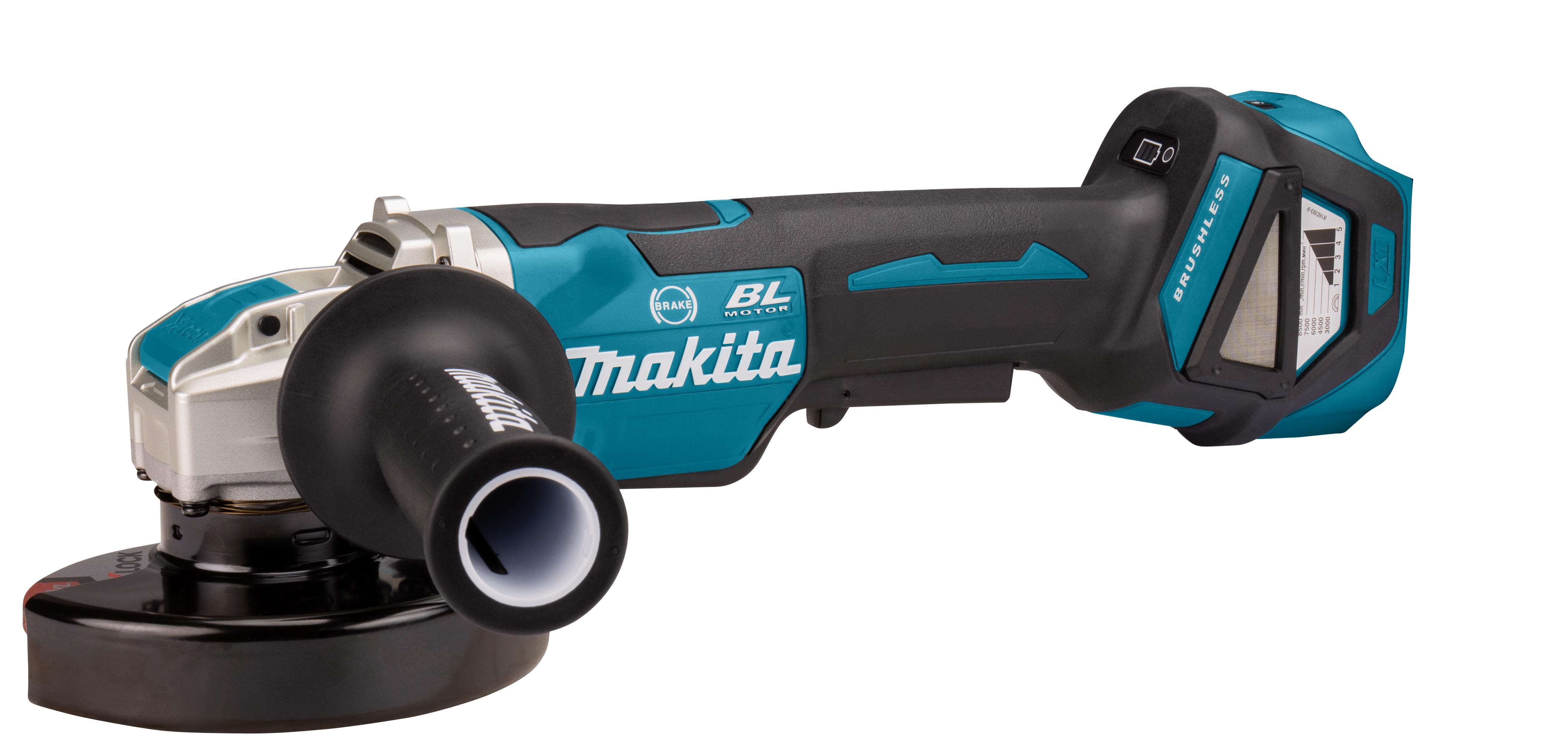 Makita DGA519- 18V Haakse Slijper 125 mm