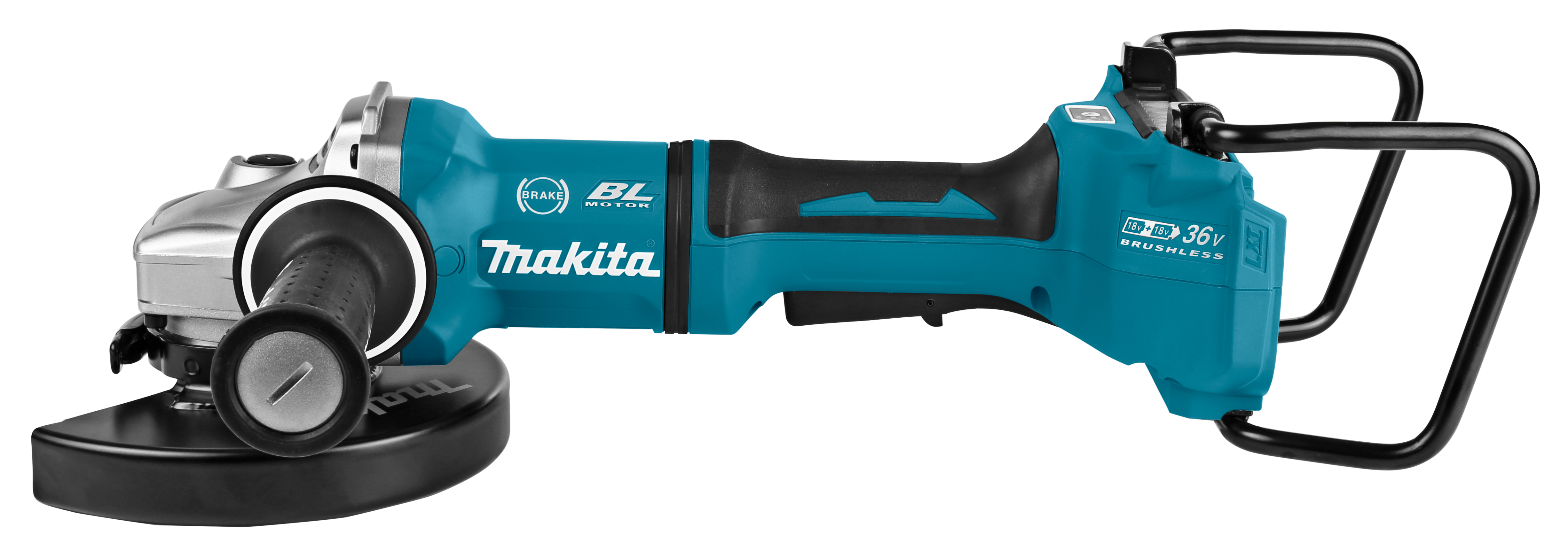 Makita DGA701- 2x18V Haakse slijper 180 mm