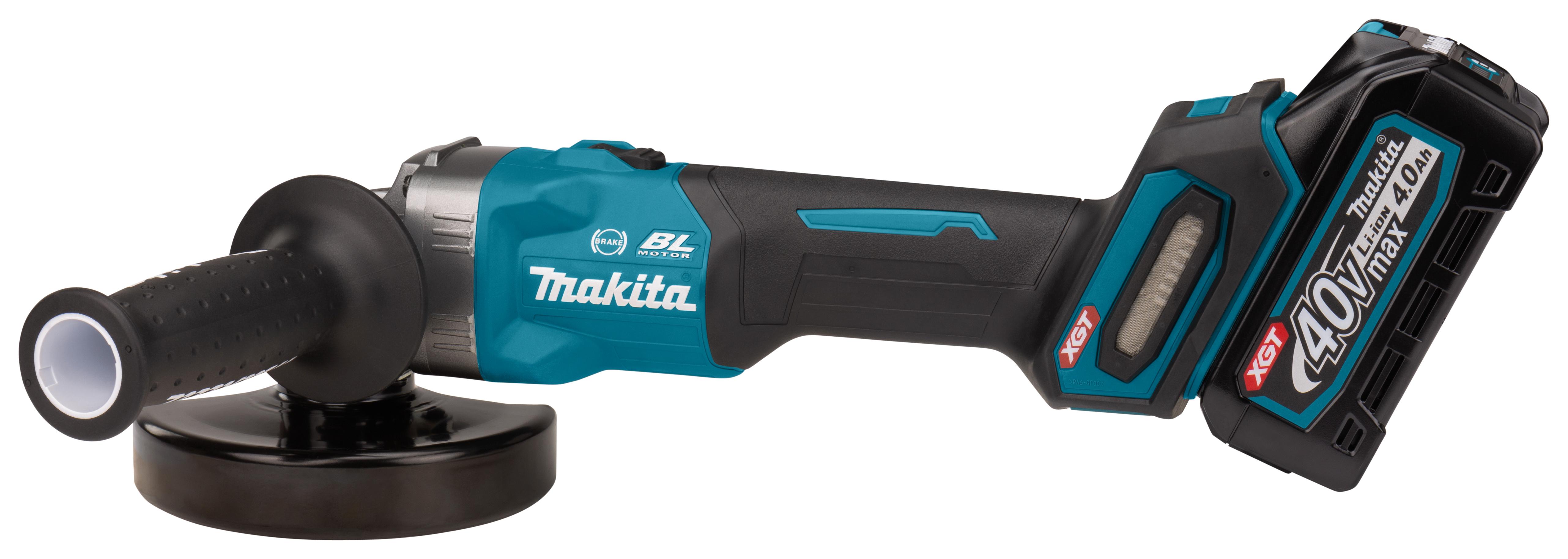 Makita GA005- 40V Max Haakse Slijper