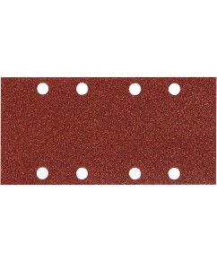 Schuurvel 93 x 228 mm red (geperforeerd)