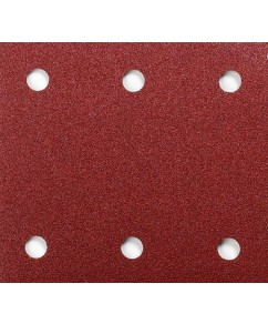 Schuurvel 114 x 102 mm red velcro
