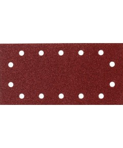 Schuurvel 115 x 280 mm red (geperforeerd)