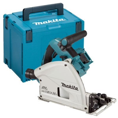 Makita DSP600- 2x18 V Invalcirkelzaag 165 mm.