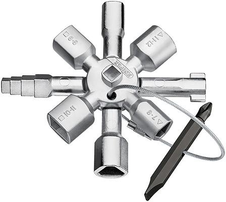 Knipex® 001101 Twinkey Sleutelkastsleutel | Mtools