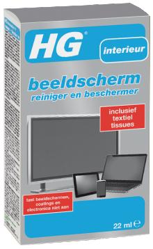 HG BEELDSCHERM REINIGER EN BESCHERMER