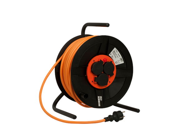 QwattPro BM300 Kabelhaspel vinyl 25m. 3x1,5 mm.   Mtools