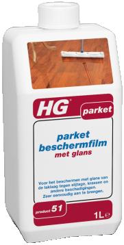 HG PARKET BESCHERMFILM MET GLANS