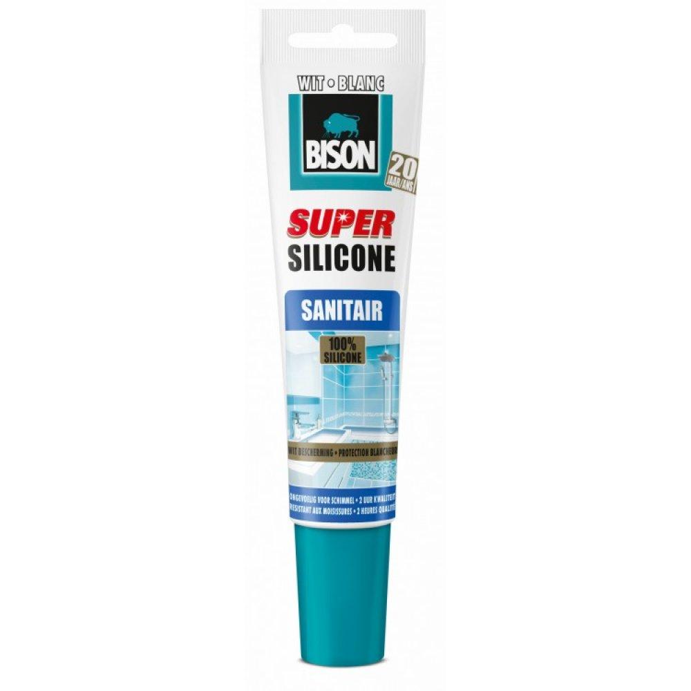 Bison Super Siliconenkit Sanitair 150 Ml Wit | Mtools