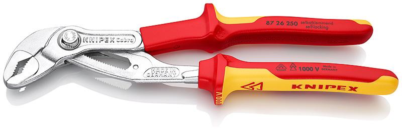 Knipex® 8726250 Cobra waterpomptang VDE 250mm | Mtools