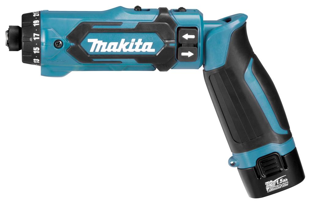 Makita DF012- 7,2 V Boor-/schroefmachine