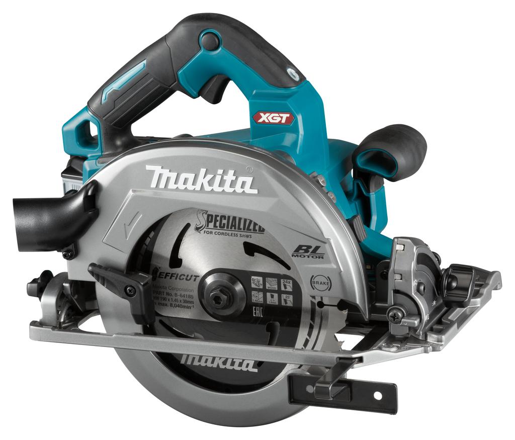 Makita HS004GM202 40 V Max Cirkelzaag 190 mm | Mtools