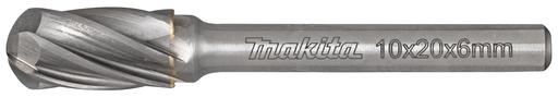 Makita B-52766 HM-frees cil. met ronde kop v. alu   Mtools