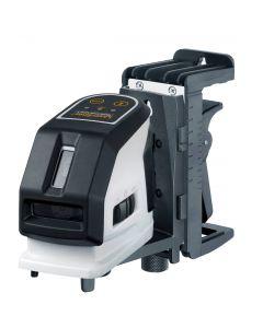 Laserliner MasterCross-Laser 2 Kruislijnlaserset in koffer - 2 lijnen - Rood - 031.350A