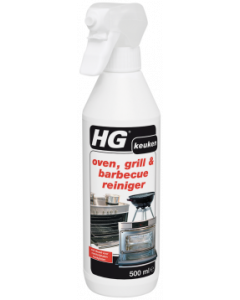 HG OVEN, GRILL & BARBECUEREINIGER