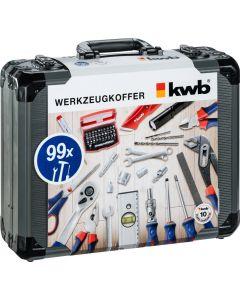 KWB gereedschapskoffer, 99-delig 370760