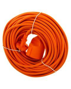 Tuinverlengkabel Oranje, 20 meter
