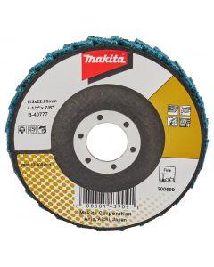 Makita B-40777 Lamellen conditioneringschijf 115 mm fijn