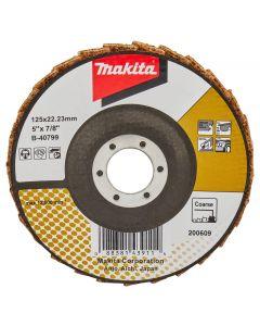 Makita B-40799 Lamellen conditioneringschijf 125 mm grof