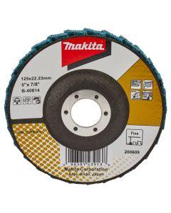 Makita B-40814 Lamellen conditioneringschijf 125 mm fijn