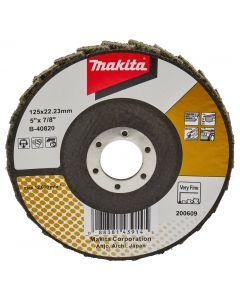 Makita B-40820 Lamellen conditioneringschijf 125 mm extra fijn