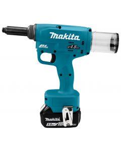 Makita DRV150RTJ 18 V Blindklinknageltang 2,4 t/m 5 mm