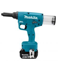 Makita DRV250RTJ 18 V Blindklinknageltang t/m 6,4 mm