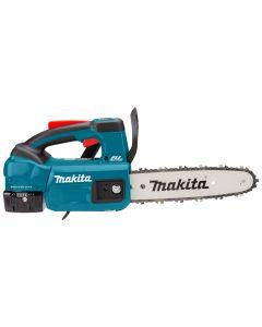 Makita DUC254PT4J 18 V Tophandle kettingzaag 25 cm