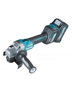 Makita GA023GM201 40 V Max Haakse slijper 125 mm