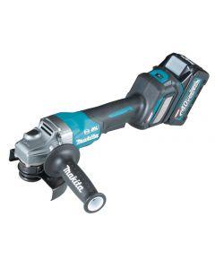 Makita GA029GM201 40 V Max Haakse slijper 125 mm