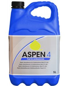 Aspen 4: schone alkylaatbenzine voor viertaktmotoren.