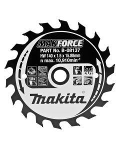 Makita B-08137 Cirkelzaagblad hout
