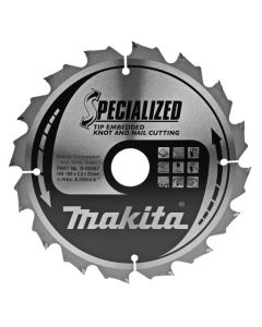 Makita B-09357 Cirkelzaagblad Hout (noest/spijker)