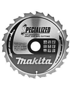 Makita B-09363 Cirkelzaagblad Hout (noest/spijker)