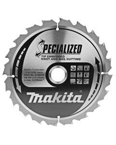 Makita B-09379 Cirkelzaagblad Hout (noest/spijker)