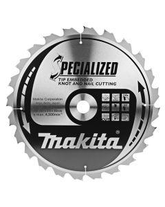 Makita B-09385 Cirkelzaagblad Hout (noest/spijker)