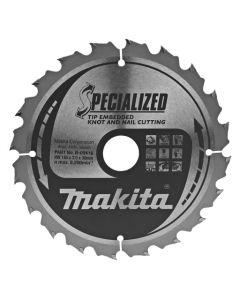 Makita B-09416 Cirkelzaagblad Hout (noest/spijker)
