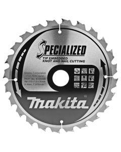 Makita B-09438 Cirkelzaagblad Hout (noest/spijker)