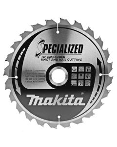 Makita B-09444 Cirkelzaagblad Hout (noest/spijker)