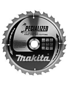 Makita B-09450 Cirkelzaagblad Hout (noest/spijker)