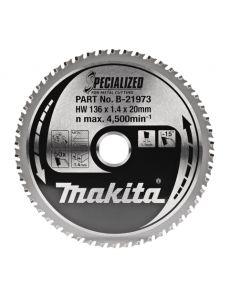 Makita B-21973 Cirkelzaagblad Dun Plaatstaal