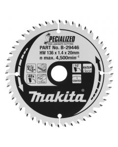 Makita B-29446 Cirkelzaagblad Laminaat