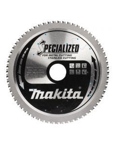 Makita B-31669 Cirkelzaagblad RVS / metaal / zacht staal