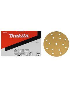 Makita B-39344 Schuurschijf 150mm K120 Yellow Velcro