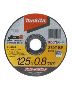 Makita B-45727 Doorslijpsch.115x0,8 RVS Z60T