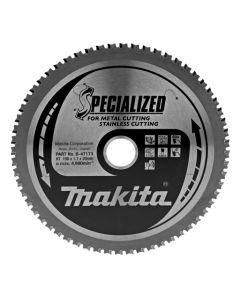 Makita B-47173 Cirkelzaagblad RVS/metaal/zacht staal