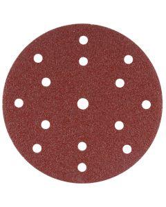 Makita B-51437 Schuurschijf 150mm K80 Red Velcro