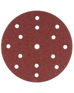 Makita B-51443 Schuurschijf 150mm K100 Red Velcro
