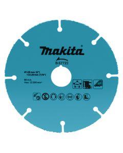 Makita B-57722 Doorslijpschijf 125x22,23x2,0mm