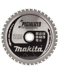Makita B-63133 Cirkelzaagblad Sandwichpaneel